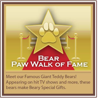 Giant Teddy bears are famous