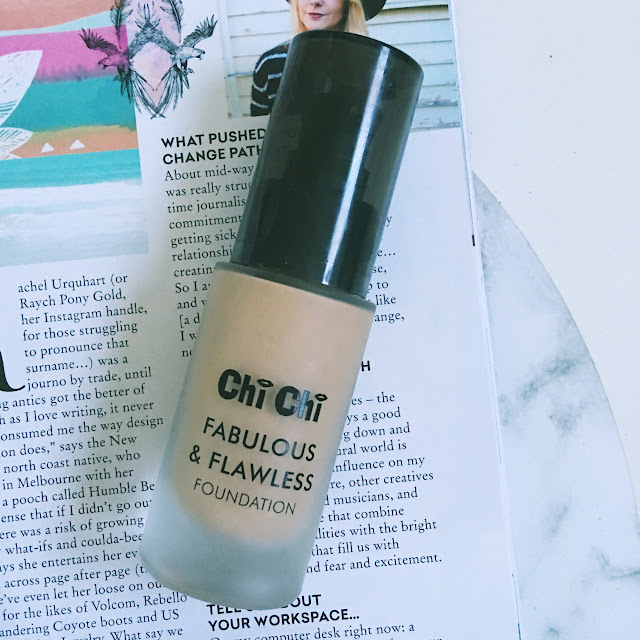 Chi Chi Fabulous and Flawless Foundation Shade 5
