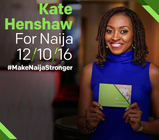 kate henshaw make naija stronger