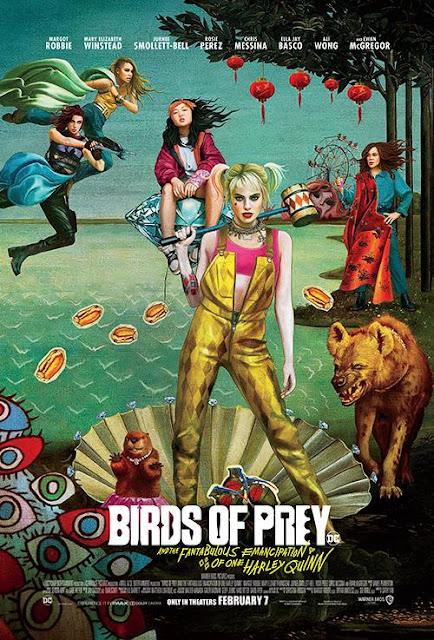 Birds of Prey (2020): Setelah berpisah dengan Joker, Harley Quinn bergabung dengan pahlawan super Black Canary, Huntress dan Renee Montoya untuk menyelamatkan seorang gadis muda dari penguasa kejahatan.