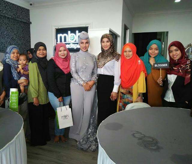 MBH Medispa Sungai Petani Kedah, Spa rawatan kulit, Spa di kedah, Rawatan di MBH Medispa, gambar pembukaan mbh medispa sungia petani, blogger utara, blogger utara di mbh medispa sungai petani,