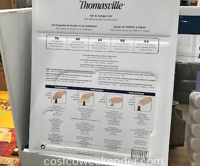 Costco 689437 - Thomasville Felt Pads & Bumper Kit: great for the furniture in your home