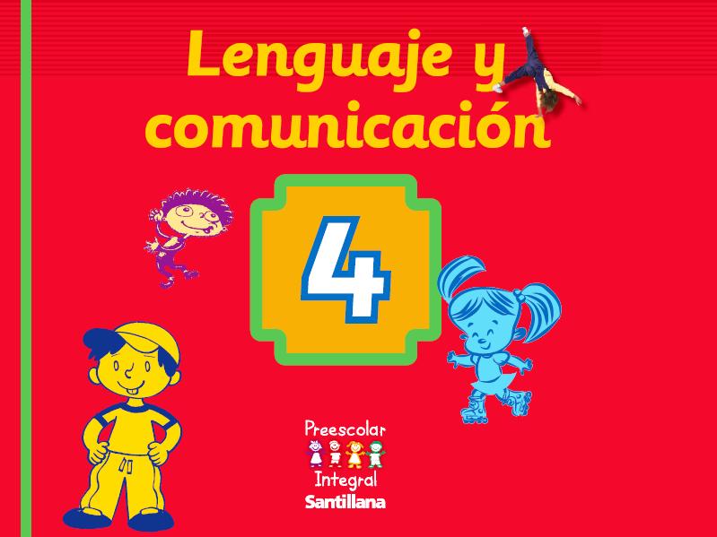 Lenguaje y Comunicación 4 años