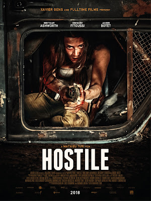 Hostile 2017 DVD R4 NTSC Sub