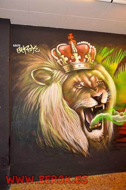 graffitis para asociación de cannabis