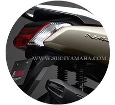 YAMAHA NMAX : LED TAIL LIGHT  Progresif horisontal LED lampu ekor