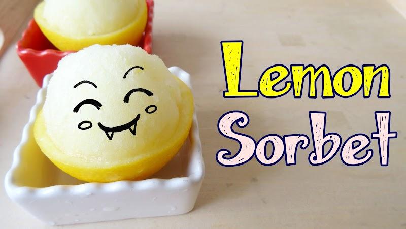 Lemon Sorbet 檸檬雪葩