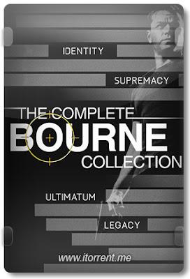 Coleção Quadrilogia Bourne
