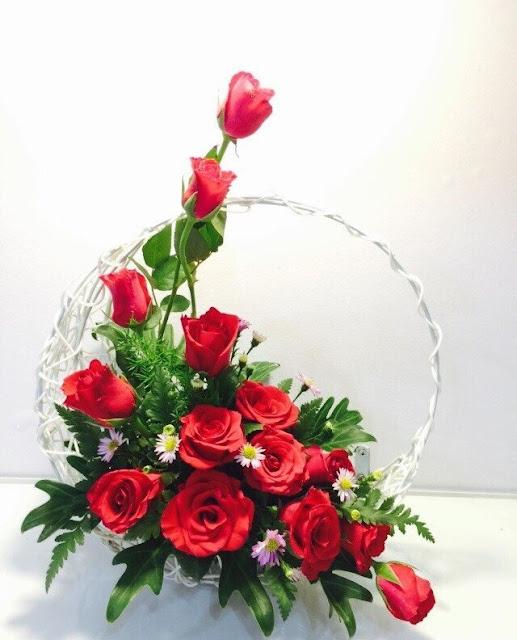 Bó hoa hồng đỏ đẹp nhất thế giới 1