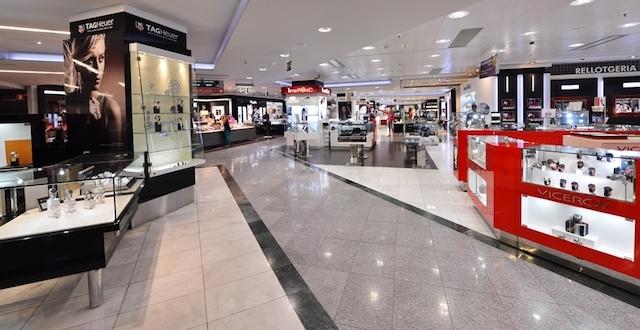 Área de cosméticos no El Corte Inglés