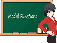 Modal Functions Lesson and Sentence