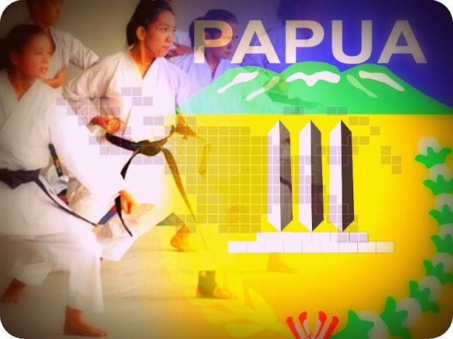 112 Karateka se Provinsi Papua Lulus Uji Kenaikan Sabuk