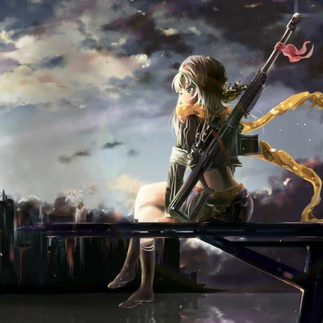 Anime sniper girl wallpaper - Anime sniper girl ...