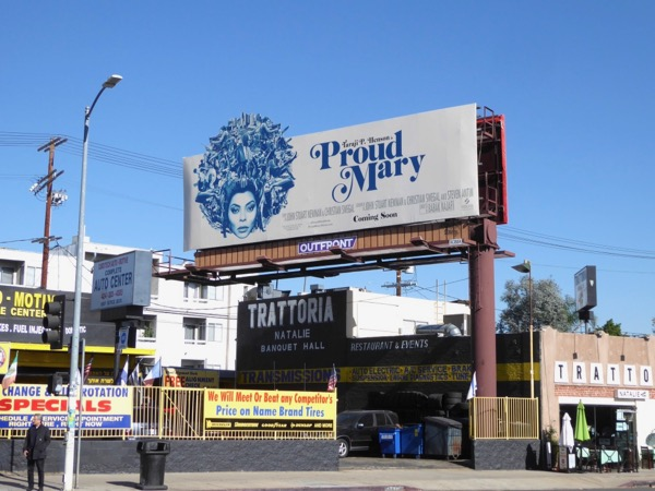 Proud Mary billboard