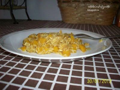 Reteta (ristotto) de post cu orez si dovleac de Cristina G.
