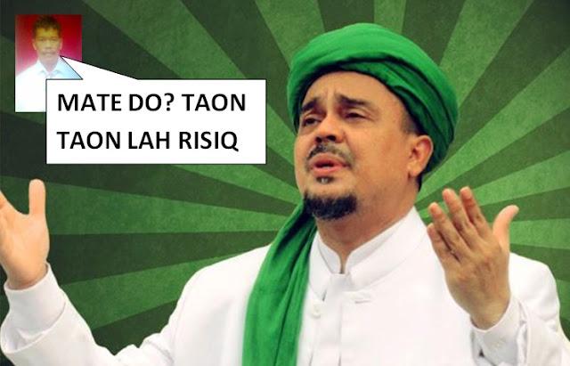 Sumpahi Habib Rizieq Meninggal, Orang Ini Malah Mati Duluan