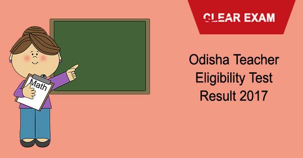 Odisha TET Result