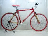 1 Sepeda Fixie STARMON Alumunium Alloy Frame dengan Flip=Flop Hub 700C