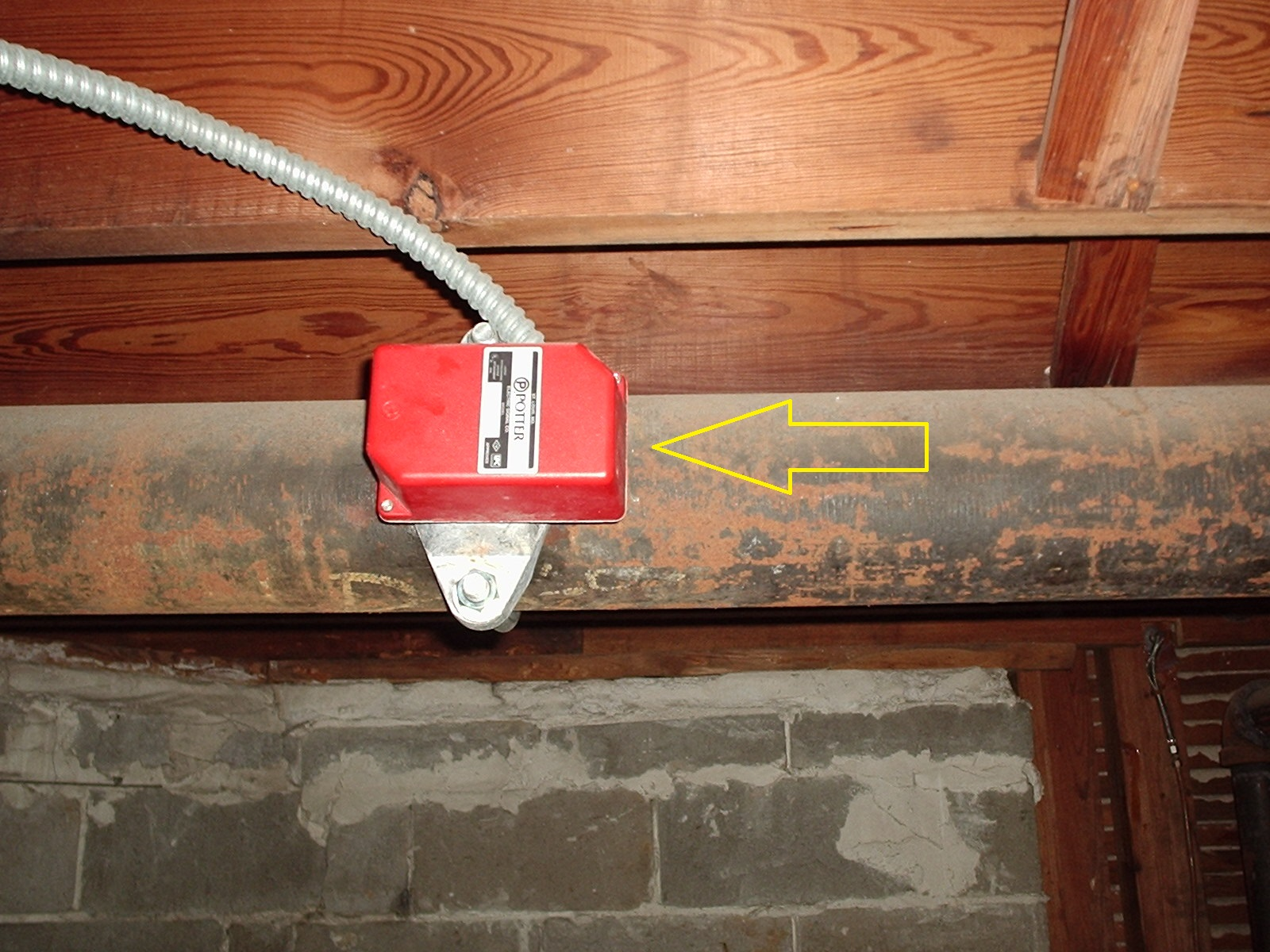 Fire Protection Deficiencies: Vane Type Water Flow Switches