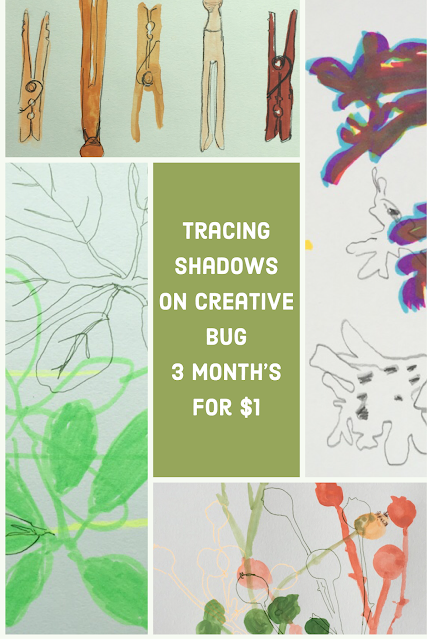 tracing shadows with lisa solomon on creative bug