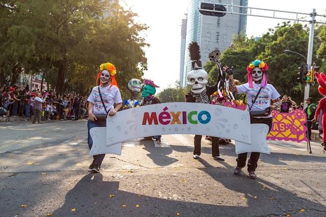 La celebración de Día de Muertos pone de pie a México