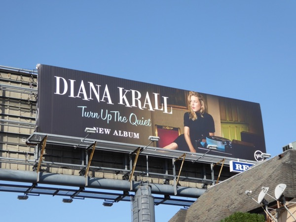 Diana Krall Turn Up Quiet billboard