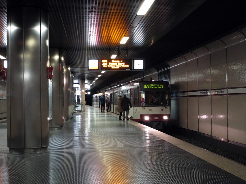 Dusseldorf Subway Map Kirchplatz.Robert Schwandl S Urban Rail Blog Dusseldorf Feat Wehrhahnlinie