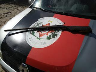 Guarnição Policial de Cubatí tira de circulação mais uma arma de fogo