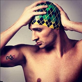 Swimmer Ryan Lochte, photographed for Speedo