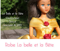 robe la belle et la belle barbie