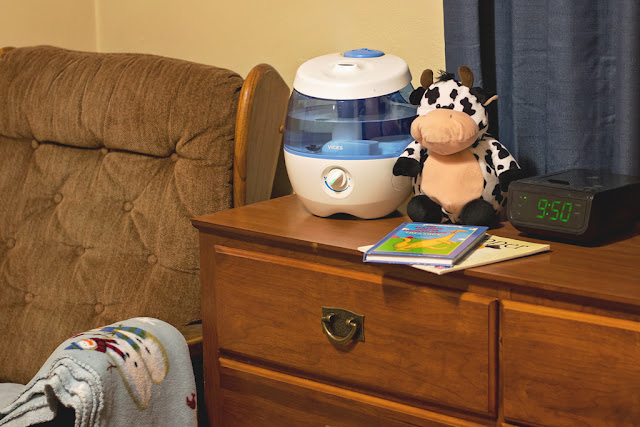 The Vicks Sweet Dreams Cool Mist Humidifier is helping to make bedtime a little sweeter in our home! #VicksSweetDreams
