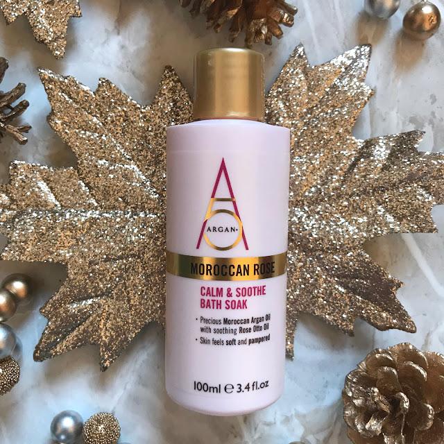Christmas Gift Idea's - Argan+ Moroccan Rose Mini Treats Gift Set
