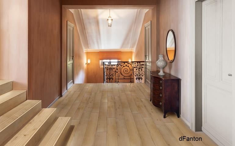 Belleza natural de la madera en tablones cer micos - Encerar suelo madera ...