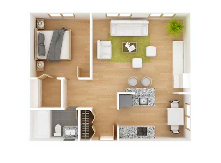 Rumah Murah-Gunakan desain rumah minimalis