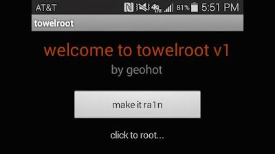 Cara Root HP Android Kitkat 4.4 Sekali Tekan Tanpa PC