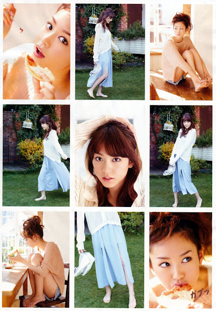 桐谷美玲 Mirei Kiritani Shonen Sunday No 18 2012 Images