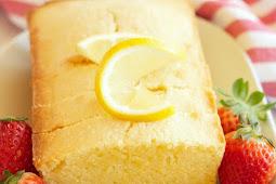 PERFECT LEMON POUND CAKE