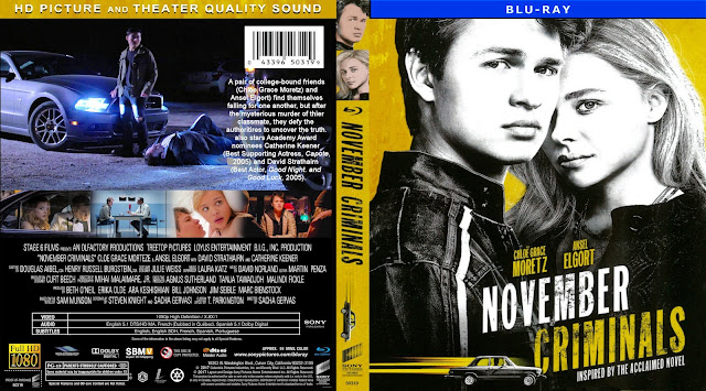 November Criminals Bluray Cover