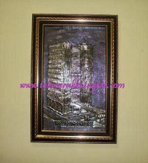 pigura relief ukir custom gedung jgc indonesia