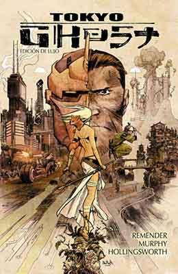 Tokyo Ghost una obra espectacular de Rick Remender
