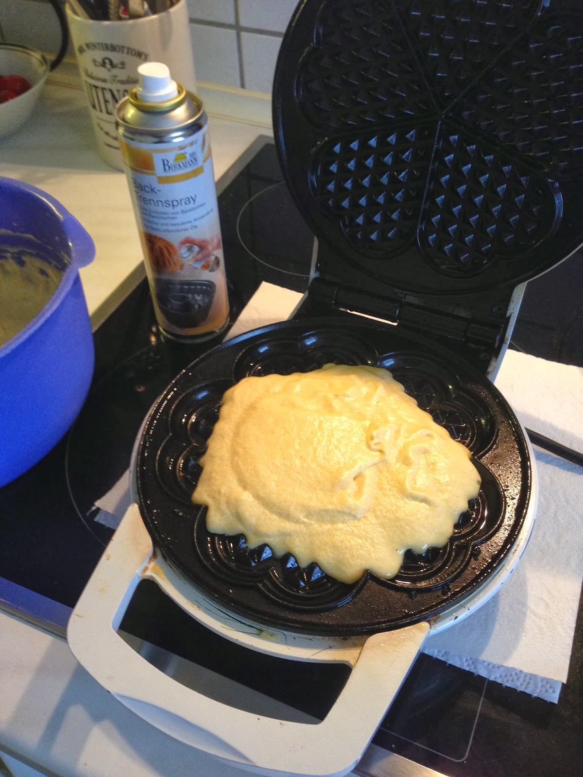 leckere waffeln die kalt noch schmecken