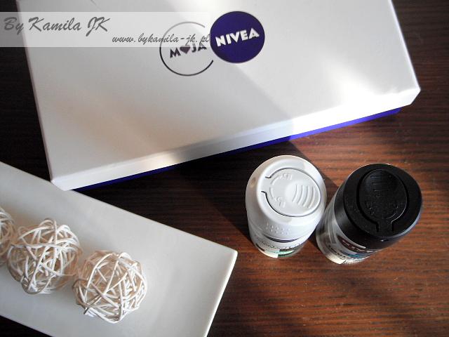 Nivea antyperspirant Invisible Black & White w sprayu damski męski Przyjaciółki Nivea
