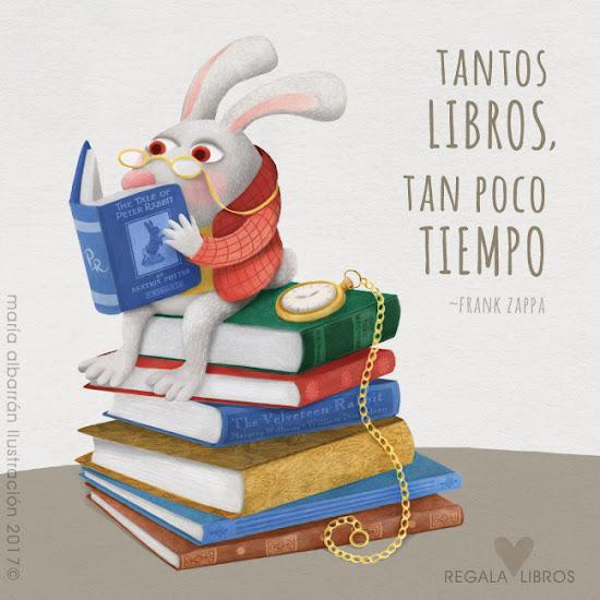 Dia internacional donacion libros - Maria Albarran Ilustración