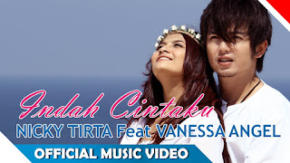 Lirik : Nicky Tirta ft. Vanessa Angel - Indah Cintaku