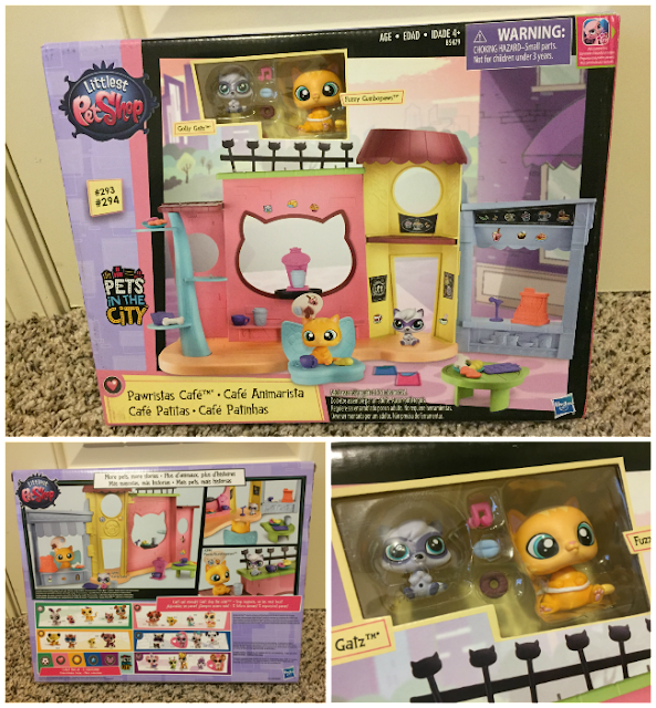 LITTLEST PET SHOP PAWRISTAS CAFÉ Playset