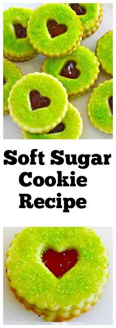 Soft Sugar Cookie Recipe #softsugarcookie #cookies #desserts #sugarcookies