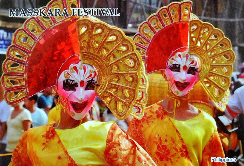festiwal mask na filipinach