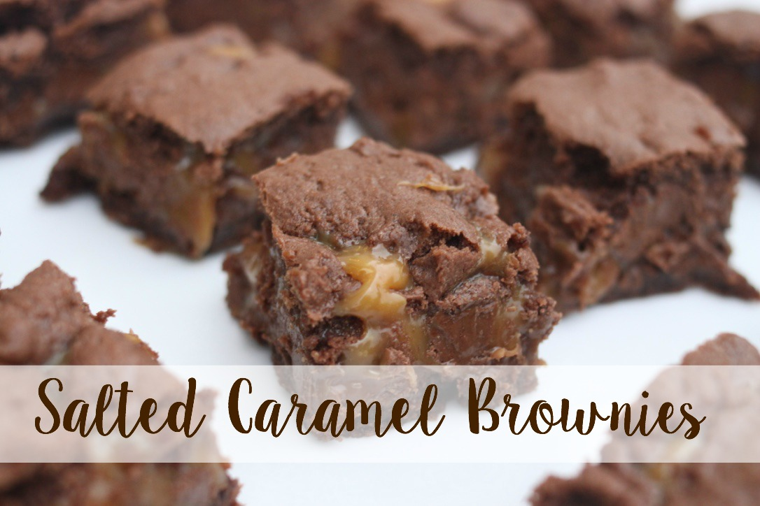 The Larson Lingo Salted Caramel Brownies