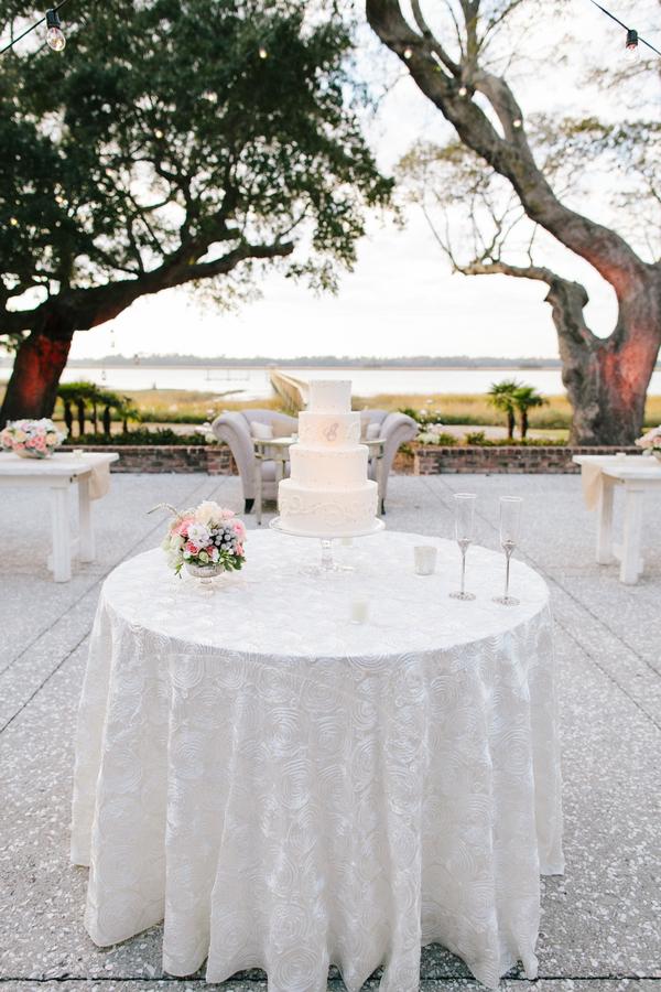 shabby+chic+wedding+spring+summer+pastel+champagne+pink+black+white+bride+groom+bouquet+ceremony+centerpiece+floral+flower+bridesmaid+dresses+dress+riverland+studios+18 - Charleston Pastel