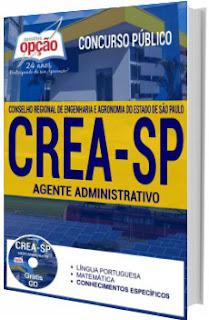 Apostila CREA-SP 2017 Agente Administrativo
